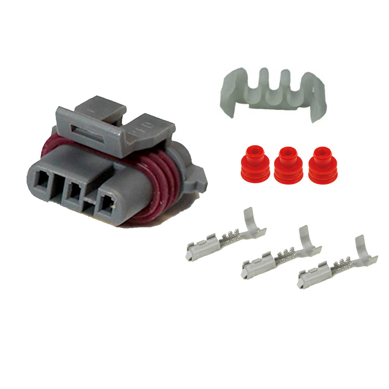 Map Sensor Wiring Harness Female Connector Kit For Gm Ls1 Ls2 Ls6