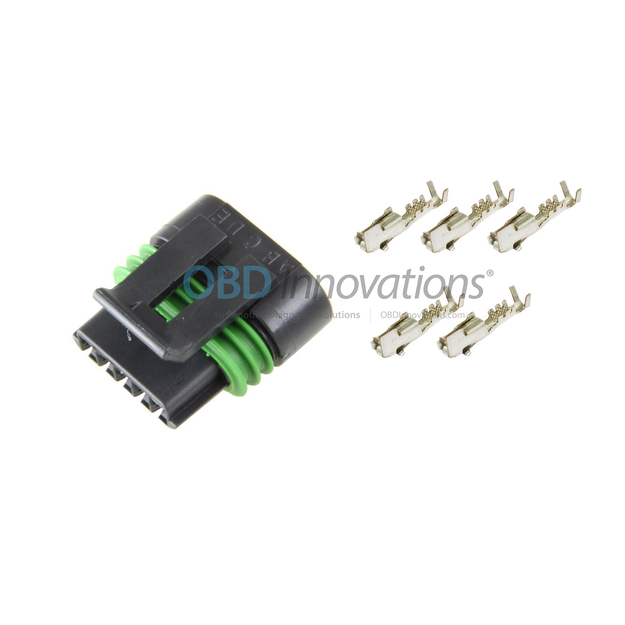 Excellent 5 Wire Maf Sensor Female Connector Harness Kit For Gm Ls2 6 0L Wiring 101 Orsalhahutechinfo