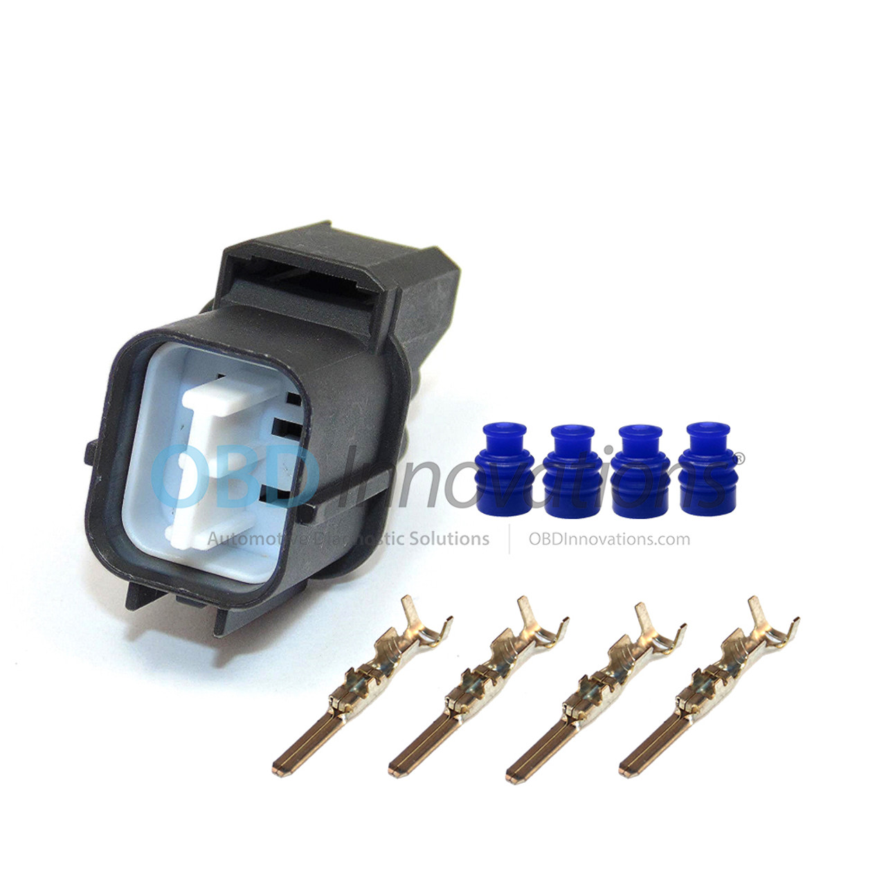 4 Wire O2 Sensor Male Connector Kit For Honda Obd Innovations