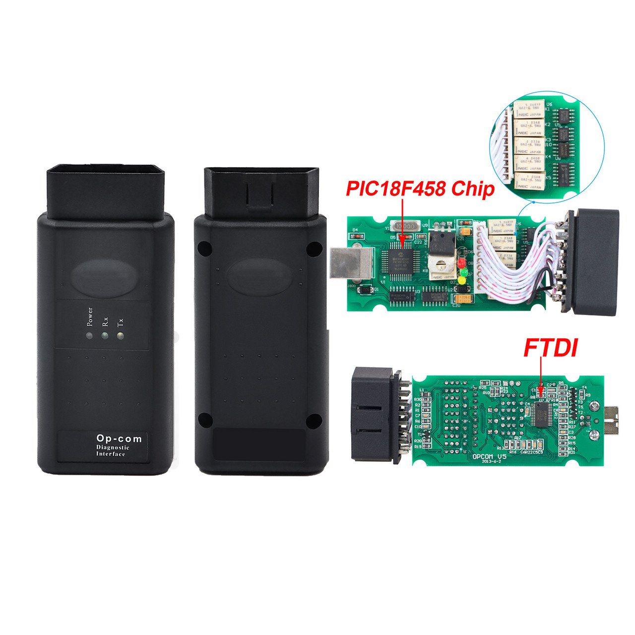 OPCOM V1 7 OBD2 Diagnostic Interface for Renault Trafic Van