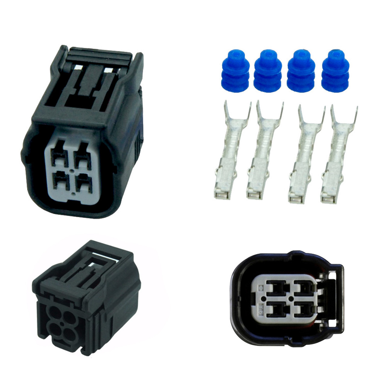 O2 Sensor Female Connector Kit Honda Accord Civic Cr V Obd Innovations Crv Wiring Harness 4 Wire Oxygen For
