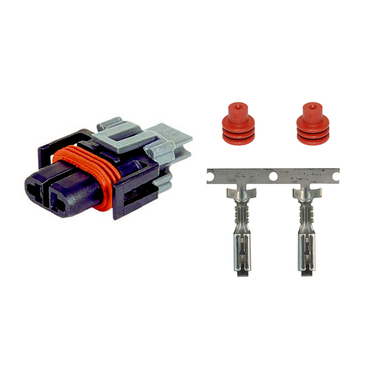 2 Way Metri-Pack 280 Series Female Connector Kit 12124819