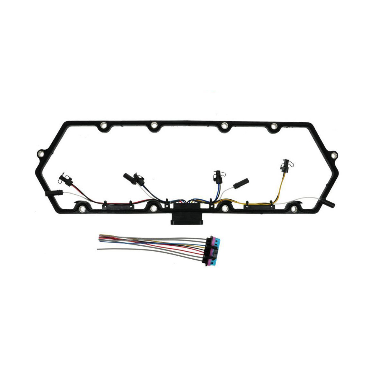Valve Cover Gasket w/ Fuel Injector and Glow Plug Harness for 97-03 on
