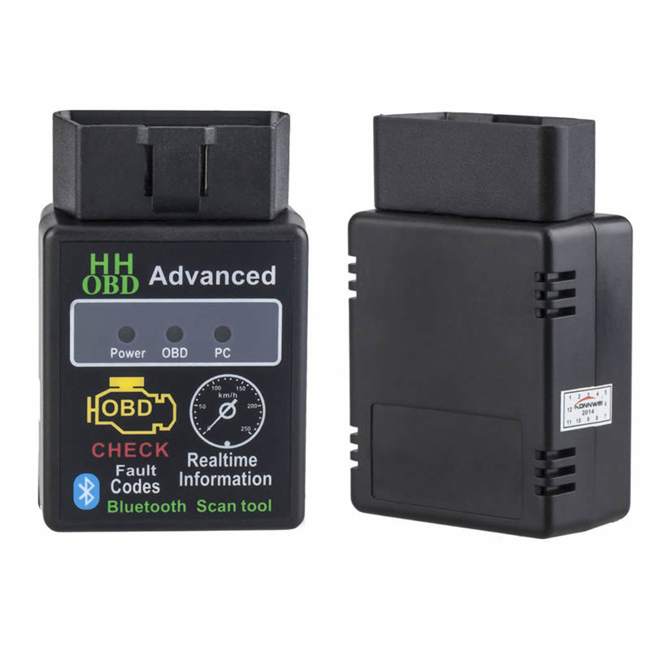 HH OBD ELM327 Bluetooth OBD2 Car Diagnostic Scanner V2 1