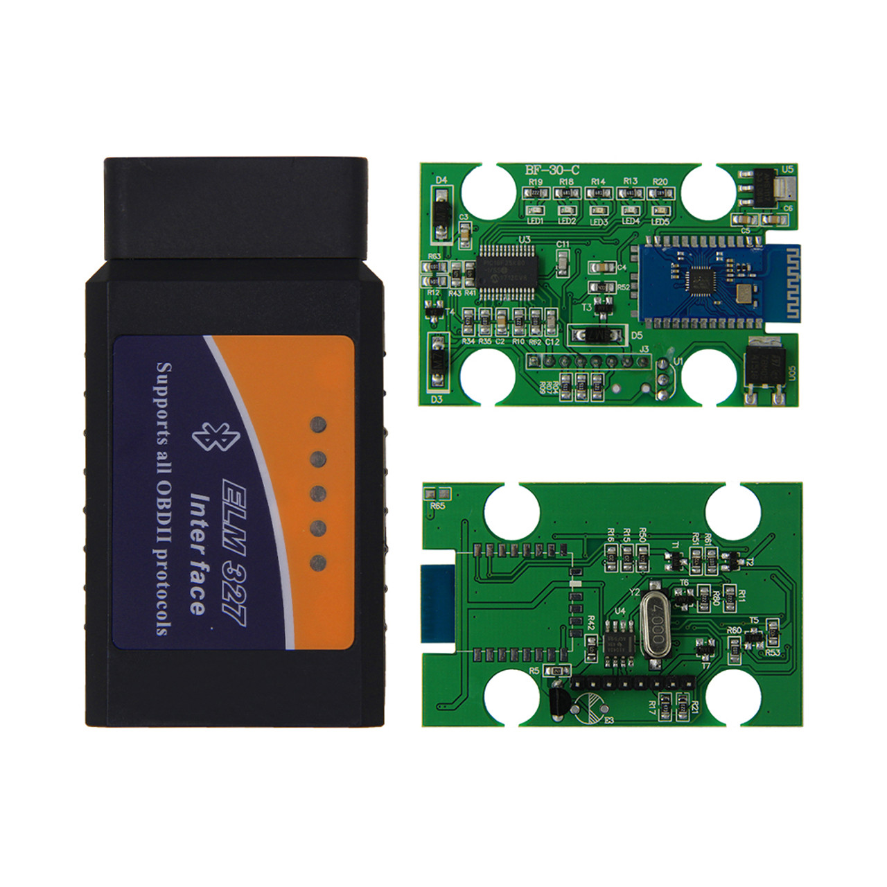 Elm327 Bluetooth Obd2 Scanner V15 Pic18f25k80 Obd Innovations Automations Gt Motor Control Circuits Pwm Controller L13512 Car Diagnostic With Microchip