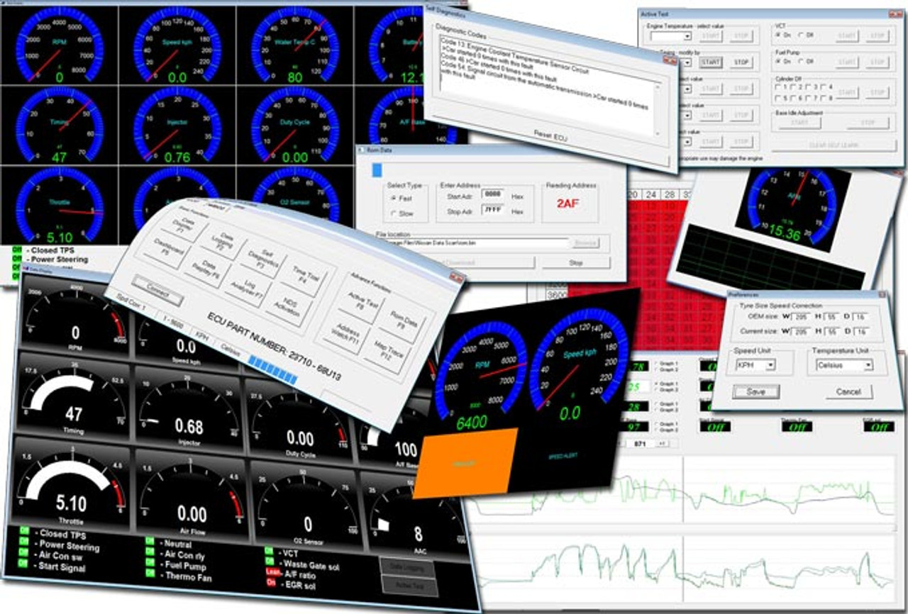 Nissan DataScan I Software for 1989-2000 Consult I 14 Pin Cars