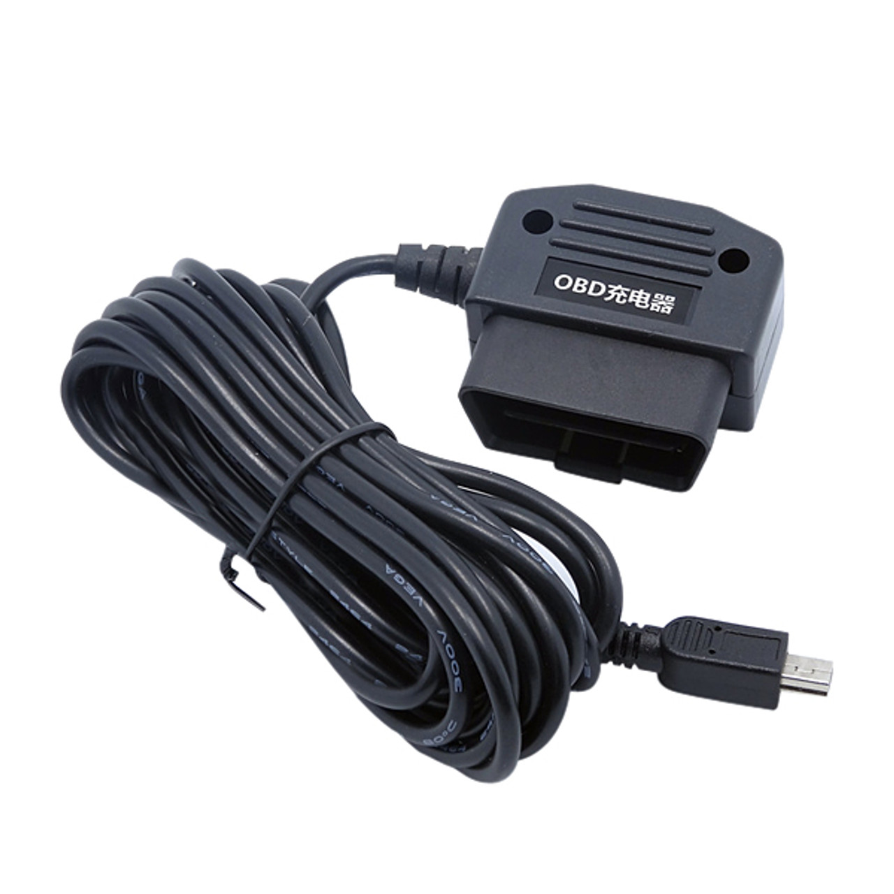 Obd2 16 Pin Male To Micro Usb Smart Charging Cable 5v 2 5a