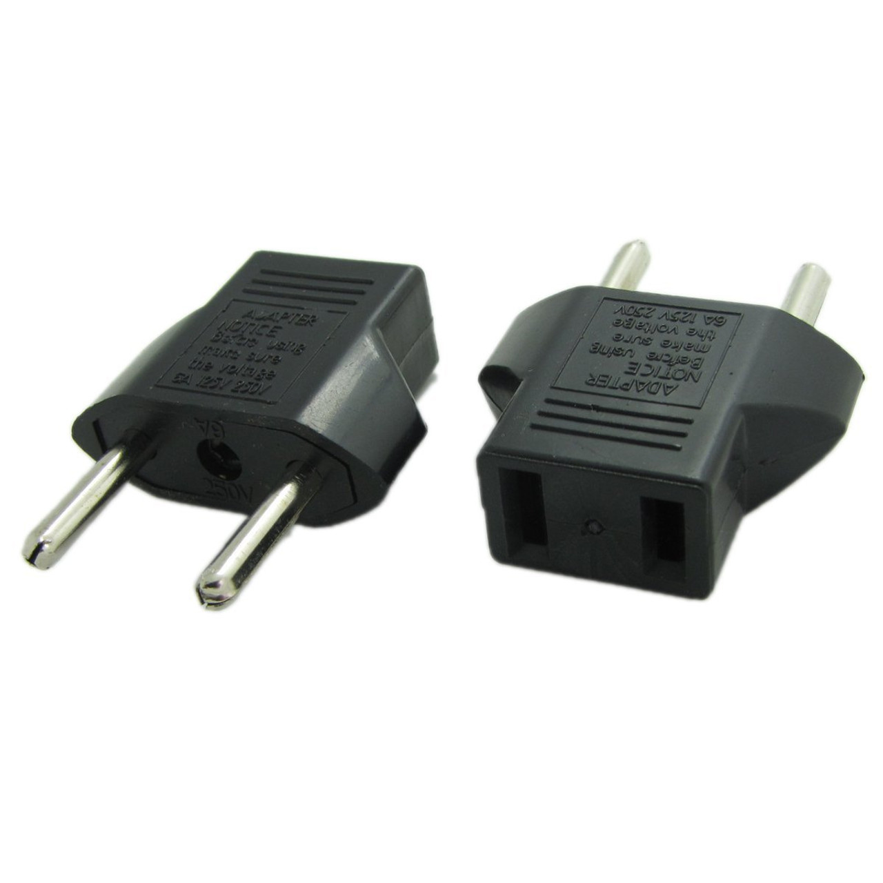 Fabulous American Us To European Eu Power Outlet Plug Adapter 2 Prong Wiring 101 Vieworaxxcnl