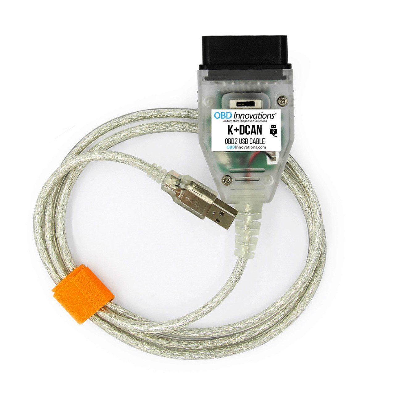 OBD Innovations® K+D-CAN OBD2 USB Cable for BMW + BMW Tools Software for E  Series