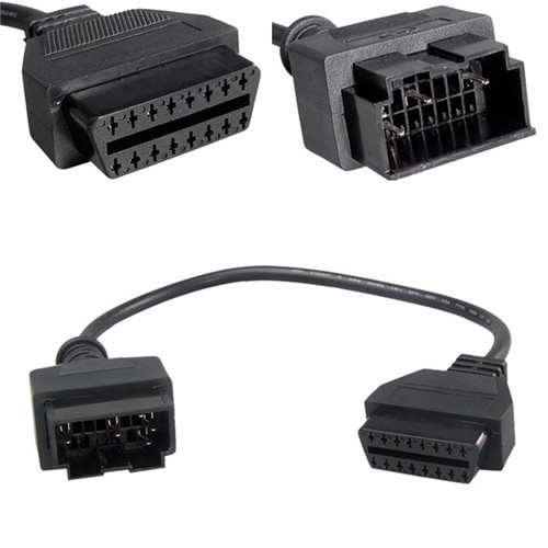 20 Pin to 16 Pin OBD2 Diagnostic Adapter Cable for Kia