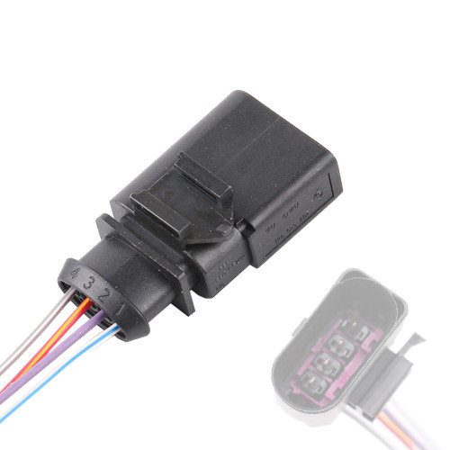 4 Pin Pressure Sensor Male Connector Pigtail for VW Audi 1K0973804