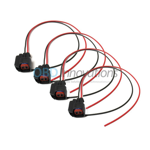 Ev6 Fuel Injector Female Connector Harness Pigtail