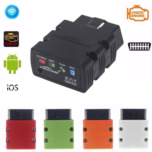 Konnwei KW902 WiFi OBD2 Diagnostic Scanner [Leaf Compatible]