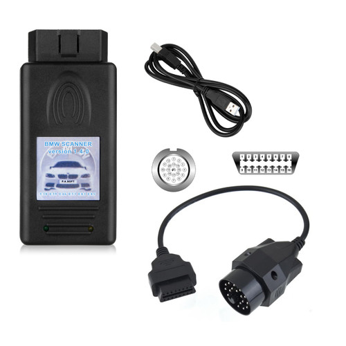 OBD2 USB Interface V1.4 for BMW 3/5/7 Series + 20 Pin Adapter