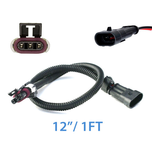 3 Wire MAF Sensor Extension Cable Harness for GM LS1 LT1 LT4 12""