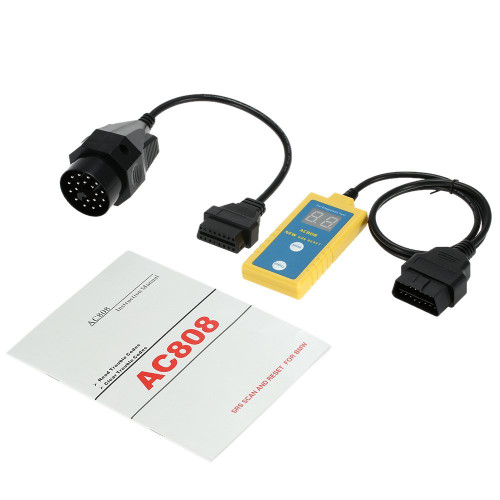 Airbag SRS Reset Tool Diagnostic Scanner for 94-03 BMW + 20 Pin Cable