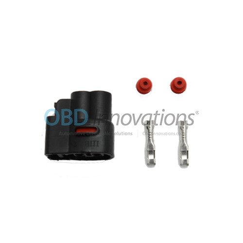 2 Pin Ignition Coil Pack Connector Kit for Various 1986-2015 Cars