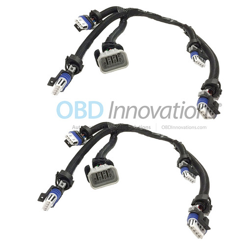 2X Pack Ignition Coil Connector Wiring  Harness for GM LS2 LS7 LQ9 LSX