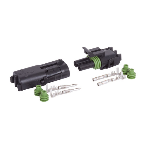 2 Way Weather Pack Sealed Male + Female Connector Kit 12010973 12015792