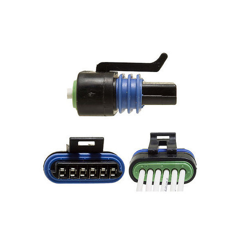 6 Way Aptiv [Delphi] Metri-Pack 150.2 Female Connector | Pigtail | Pull-to-Seat | 12162210