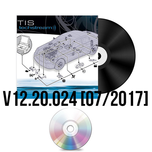 TIS Techstream Software V12.20.024 (Release Date 07.2017)