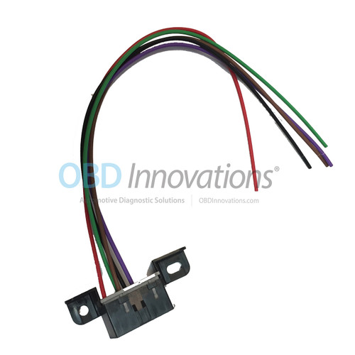 OBD2 J1962 DLC Wiring Harness Connector Pigtail for Newer OBDII CAN BUS  Vehicles