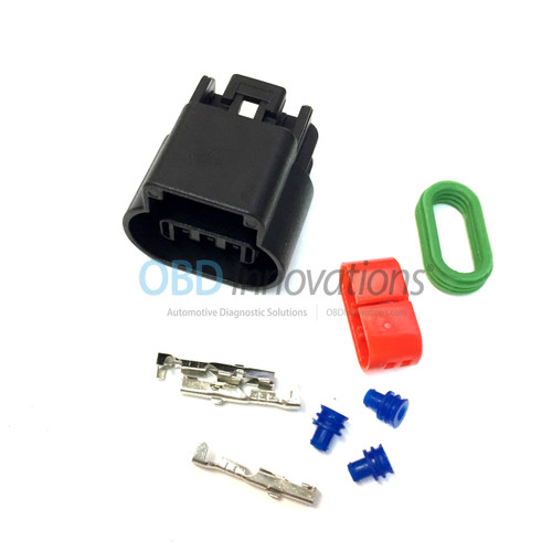 GT 150 Series 3 Way Sealed Female Connector (1 Row) Kit 15326808