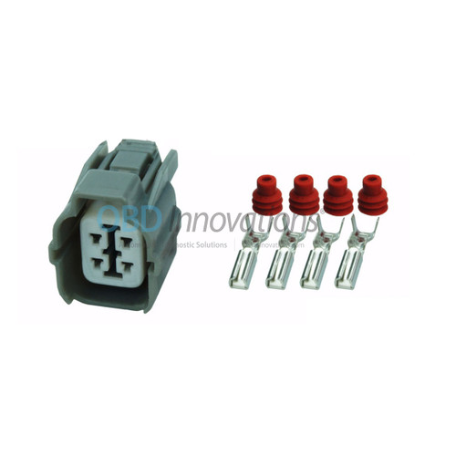 4 Way Sumitomo HW Series Sealed Female Connector Kit 6189-0132