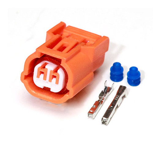 2 Way Sumitomo HX 040 Series Sealed Female Connector Kit (Orange)