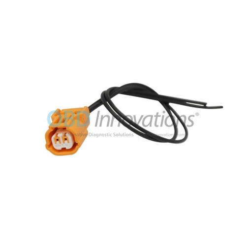 2 Way Sumitomo HX 040 Series Sealed Female Connector Pigtail (Orange)