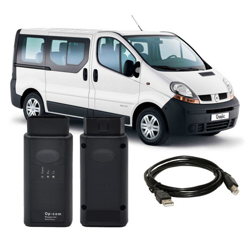 OPCOM V1.7 OBD2 Diagnostic Interface for Renault Trafic Van