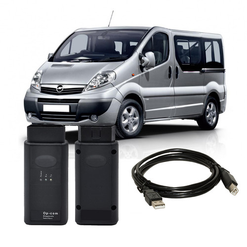 OPCOM V1.7 OBD2 Diagnostic Interface for Opel Vauxhall Vivaro Van