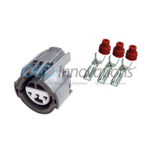 3 Pin Sumitomo Sealed Gray Female Connector Kit 6189-0154 6189-0481