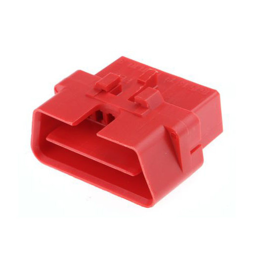 16 Way Aptiv [Delphi] Metri-Pack 150 Red Male OBDII Connector 12110252