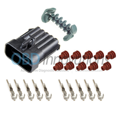 10 Way Aptiv [Delphi] Metri-Pack 150 Male Connector | Kit | 12045808