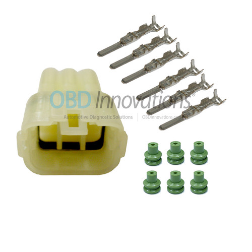 6 Way Sumitomo MT Sealed Male Connector   Kit   6189-6171