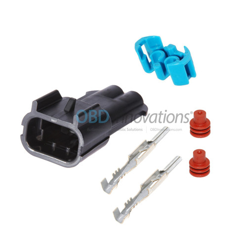 2 Way Aptiv [Delphi] Metri-Pack 280 Male Connector | Kit | 15300002