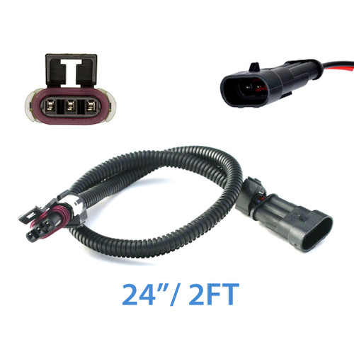 3 Wire MAF Sensor Extension Cable Harness for GM LS1 LT1 LT4 24""