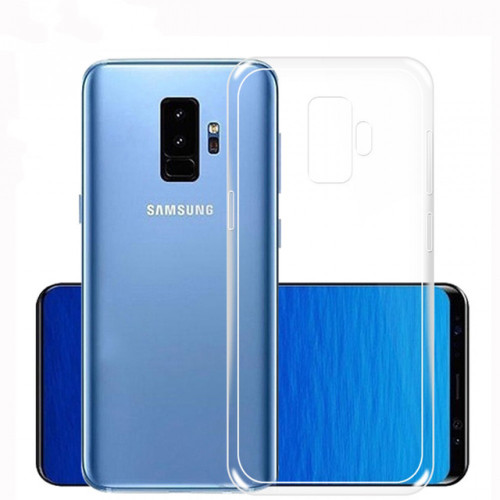 Thin Crystal Clear Hard Snap On Case for Samsung Galaxy S9