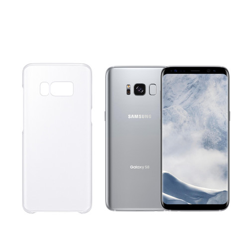 Thin Crystal Clear Hard Snap On Case for Samsung Galaxy S8