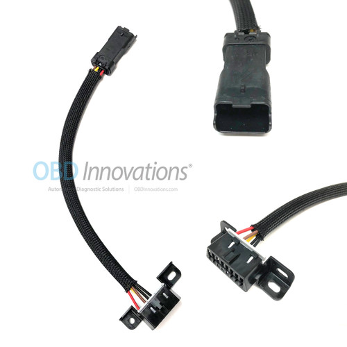 Ducati DDA 4 Pin to OBD2 Adapter Cable for Ducati Monster 696 796 Panigale