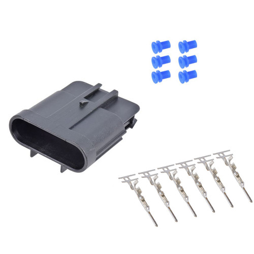 6 Way GT150 Series Male Connector Kit 15397579