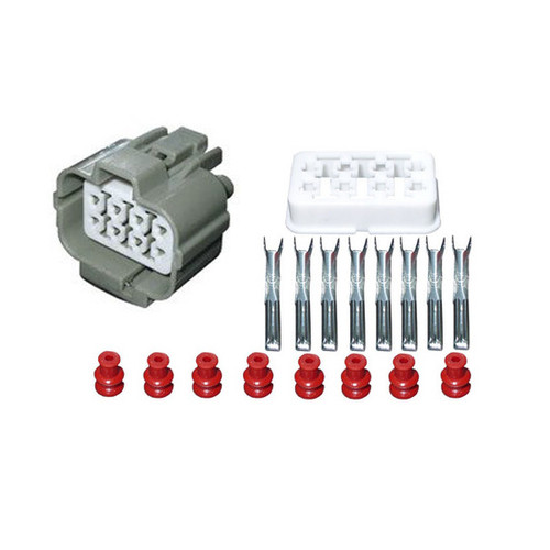 8 Way Female Connector Kit for 92-95 Honda Acura OBD1 Distributor