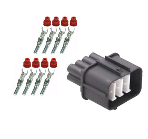 8 Way Male Connector Kit for 92-95 Honda Acura OBD1 Distributor