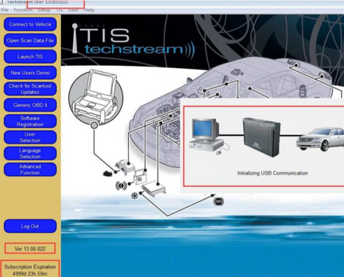 TIS Techstream Software V13.00.022 [Latest Version]