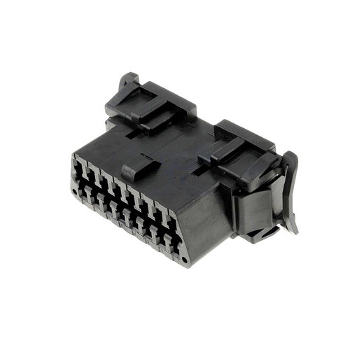 Molex OBDII Connector, Panel Mount, 16 Pin J1962F Connector 51115-1601