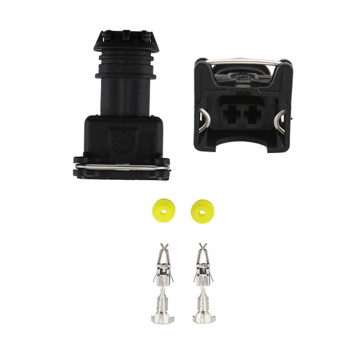 Fuel Injector Female Connector Kit for Bosch RC EV1 OBD2 Style