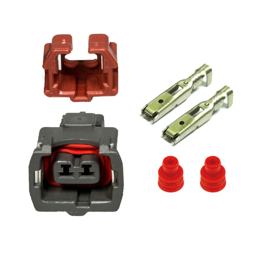Fuel Injector Connector Kit for 300ZX Z32 90-94 TT 90-93 NA [Early Style]