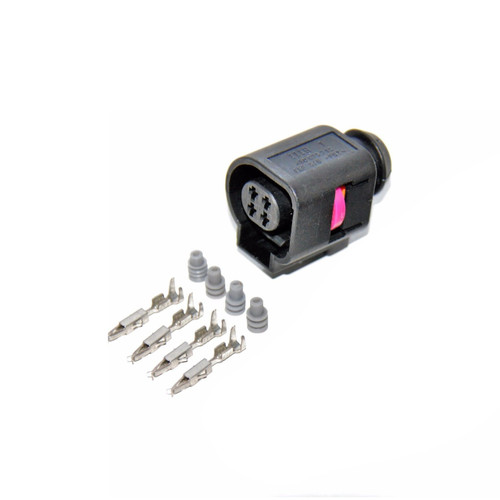 4 Way [2 Row] 1.5mm Female Connector Kit for VW Audi 4B0 973 712