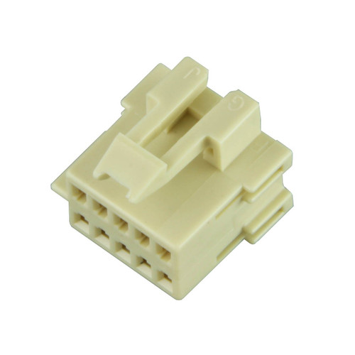 10 Way Aptiv [Delphi] Metri-Pack 150 Unsealed Female Connector Housing | Natural 12064769